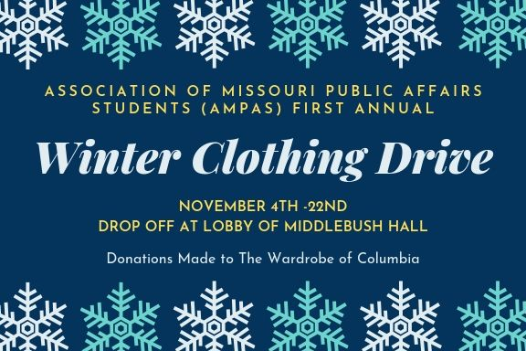 AMPAS Winter Clothing Drive