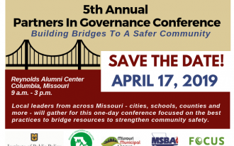 Save the Date 5th Annual Partners in Governance Conference